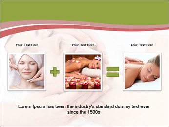 Facial Massage Treatment PowerPoint Template - Slide 22