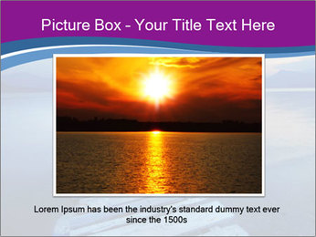 Moody Lake PowerPoint Template - Slide 15