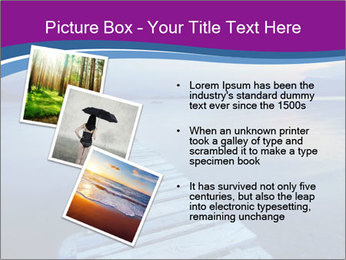 Moody Lake PowerPoint Template - Slide 17