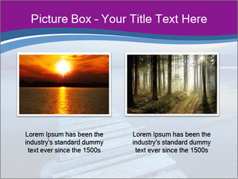 Moody Lake PowerPoint Template - Slide 18