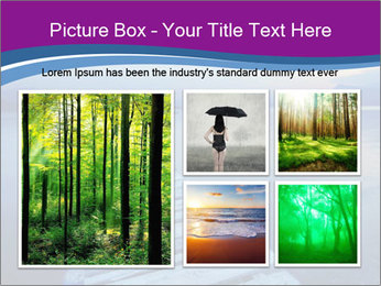 Moody Lake PowerPoint Template - Slide 19