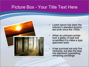 Moody Lake PowerPoint Template - Slide 20