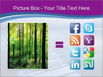 Moody Lake PowerPoint Template - Slide 21