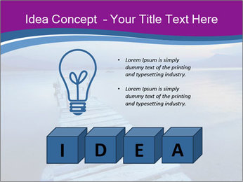 Moody Lake PowerPoint Template - Slide 80