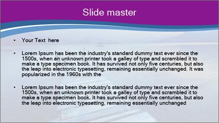 Moody Lake PowerPoint Template - Slide 2