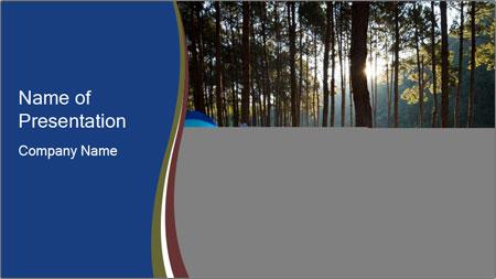 Forest Wilderness PowerPoint Template