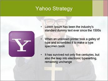 Crazy Evangelist PowerPoint Template - Slide 11