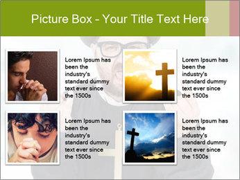 Crazy Evangelist PowerPoint Template - Slide 14