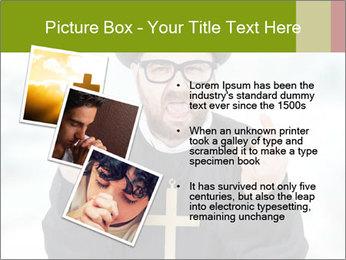 Crazy Evangelist PowerPoint Template - Slide 17