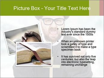 Crazy Evangelist PowerPoint Template - Slide 20