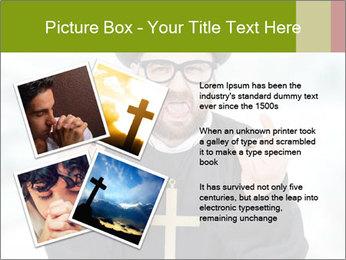 Crazy Evangelist PowerPoint Template - Slide 23