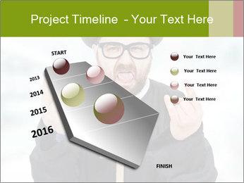 Crazy Evangelist PowerPoint Template - Slide 26