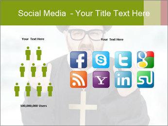 Crazy Evangelist PowerPoint Template - Slide 5