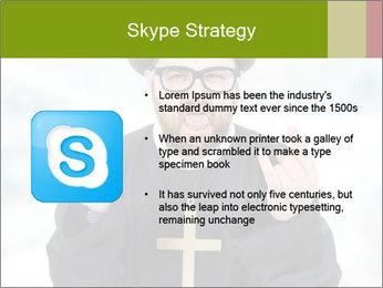 Crazy Evangelist PowerPoint Template - Slide 8