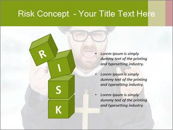 Crazy Evangelist PowerPoint Template - Slide 81