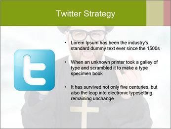 Crazy Evangelist PowerPoint Template - Slide 9