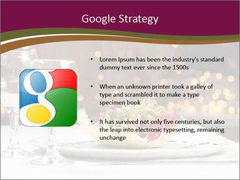 Beautiful Dinnerware PowerPoint Template - Slide 10