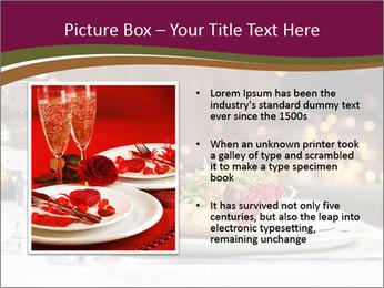 Beautiful Dinnerware PowerPoint Template - Slide 13