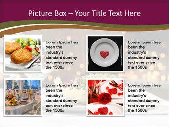 Beautiful Dinnerware PowerPoint Template - Slide 14