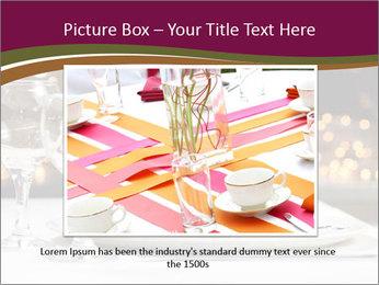 Beautiful Dinnerware PowerPoint Template - Slide 15