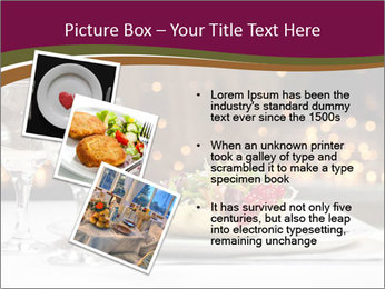 Beautiful Dinnerware PowerPoint Template - Slide 17