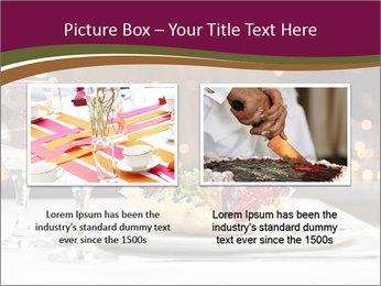 Beautiful Dinnerware PowerPoint Template - Slide 18