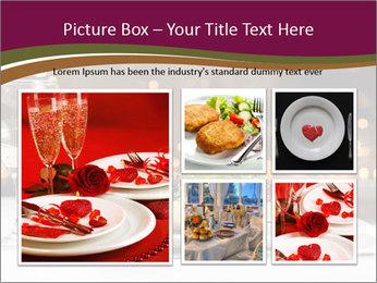 Beautiful Dinnerware PowerPoint Template - Slide 19