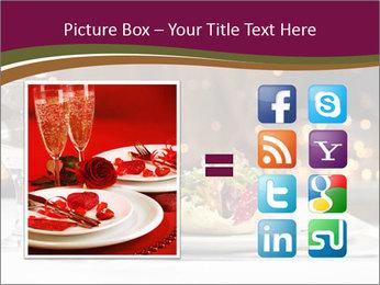 Beautiful Dinnerware PowerPoint Template - Slide 21