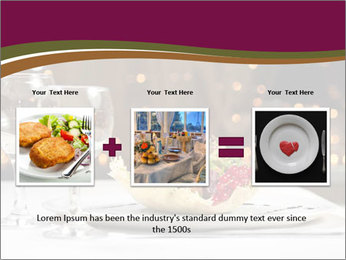 Beautiful Dinnerware PowerPoint Template - Slide 22