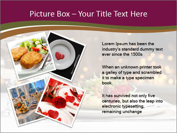 Beautiful Dinnerware PowerPoint Template - Slide 23