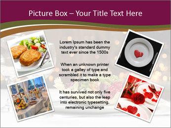 Beautiful Dinnerware PowerPoint Template - Slide 24