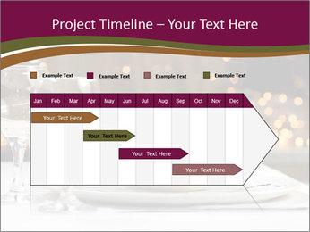 Beautiful Dinnerware PowerPoint Template - Slide 25