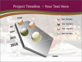 Beautiful Dinnerware PowerPoint Template - Slide 26