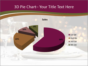 Beautiful Dinnerware PowerPoint Template - Slide 35