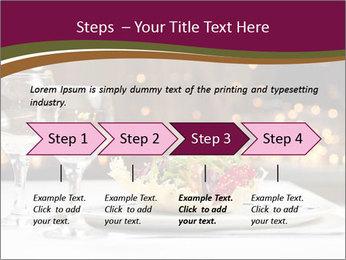 Beautiful Dinnerware PowerPoint Template - Slide 4