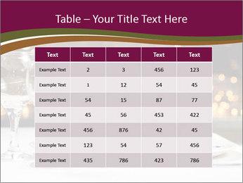 Beautiful Dinnerware PowerPoint Template - Slide 55
