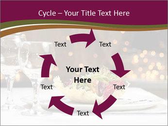 Beautiful Dinnerware PowerPoint Template - Slide 62