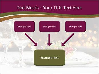 Beautiful Dinnerware PowerPoint Template - Slide 70