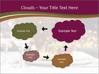 Beautiful Dinnerware PowerPoint Template - Slide 72