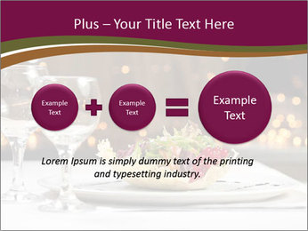 Beautiful Dinnerware PowerPoint Template - Slide 75