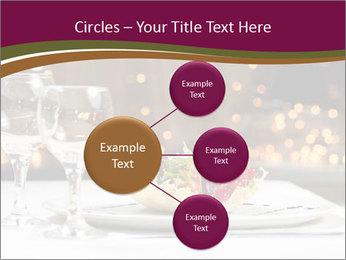 Beautiful Dinnerware PowerPoint Template - Slide 79