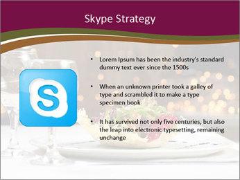 Beautiful Dinnerware PowerPoint Template - Slide 8