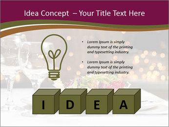 Beautiful Dinnerware PowerPoint Template - Slide 80