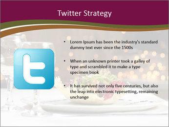 Beautiful Dinnerware PowerPoint Template - Slide 9