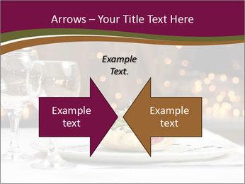 Beautiful Dinnerware PowerPoint Template - Slide 90