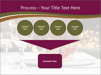 Beautiful Dinnerware PowerPoint Template - Slide 93