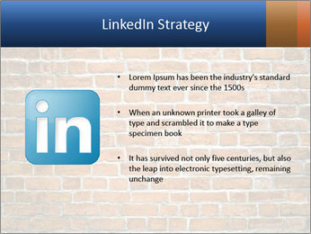 Brown Brick Wall PowerPoint Template - Slide 12