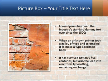 Brown Brick Wall PowerPoint Template - Slide 13