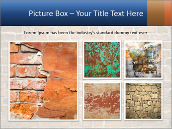 Brown Brick Wall PowerPoint Templates - Slide 19