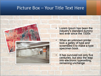 Brown Brick Wall PowerPoint Template - Slide 20